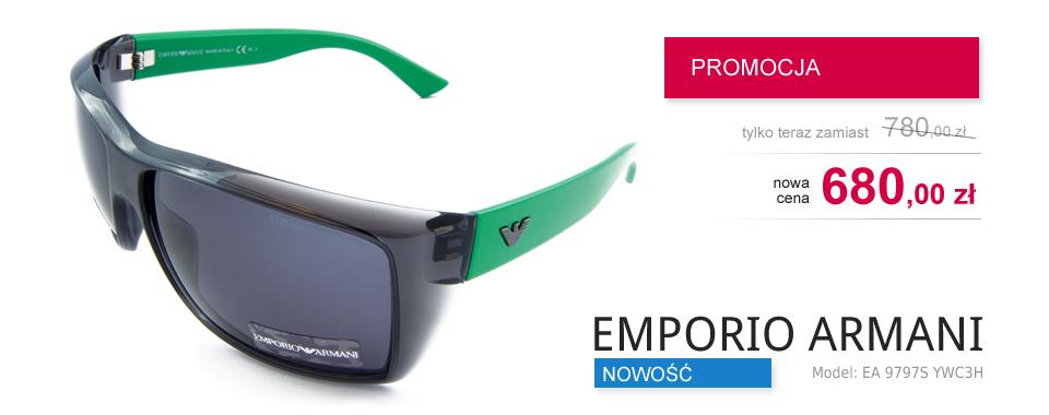EMPORIO ARMANI Model: EA 9797S YWC3H - PROMOCJA